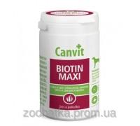 Canvit Biotin Maxi Канвит Биотин Макси здоровье кожи и блестящая шерсть у собак на каждый день 230 г