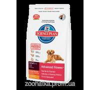 Hills SP Canine Adult Advanced Fitness Large Breed с Курицей (12 кг)