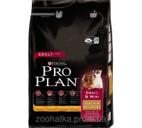 Pro Plan (Про План) Dog Adult Mini Chicken Корм для взрослых собак мелких пород с курицей и рисом 3 кг
