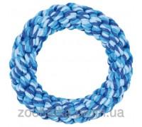 Trixie (Трикси) Denta Fun Rope Ring Игрушка для собак канатное кольцо