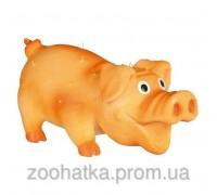 Trixie (Трикси) Bristle Pig Игрушка для собак Свинка со щетиной из латекса