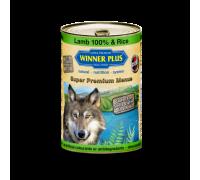 Winner Plus (Виннер Плюс) консервы для собак с ягнёнком и рисом 400 г