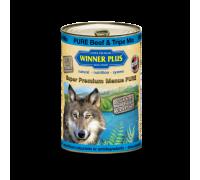 Winner Plus (Виннер Плюс) консервы для собак с говядиной и рубцом 400 г