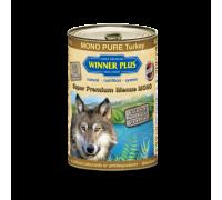 Winner Plus (Виннер Плюс) консервы для собак с индейкой 400 г