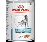 Royal Canin (Роял канин) Sensitivity Control with Duck - лечебные консервы для собак